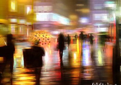 Pluie nocturne à Brooklyn