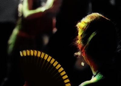 Tango à l'éventail