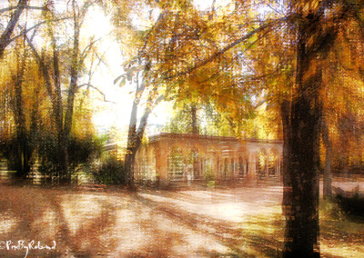 cloitre du jardin massey à l'automne