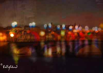 Garonne la nuit