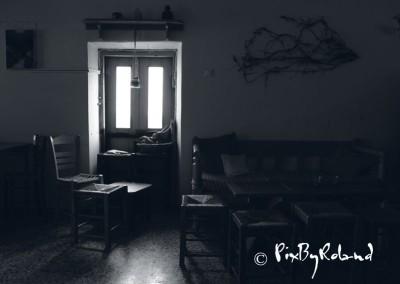 Grèce, Chora, café le Bayoko