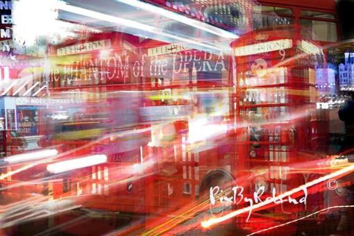 Londres une étude en rouge