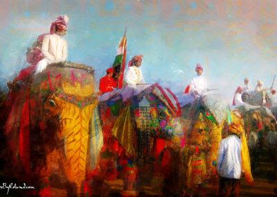 Le festival des éléphants
