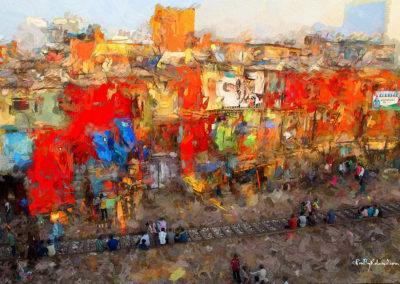 Mumbay slum