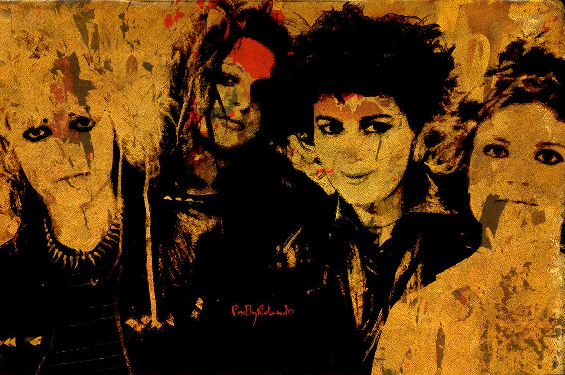 elles sont sûrement parmi les premières musiciennes rock à s'affirmer avec autant d'énergie et de personnalité