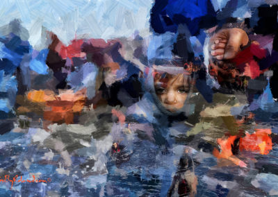 Voyage d'hiver Lesbos XVIII