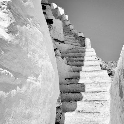 escaliers Chora Amorgos