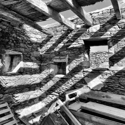habitation en ruine