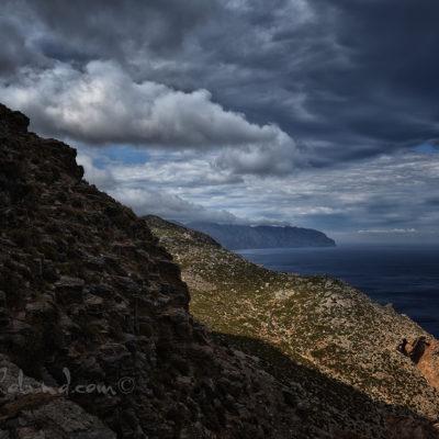 paysage d'octobre à Amorgos